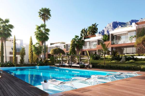 4 Bedroom, 3 Bathroom Villa For Sale in Marbella Golden Mile