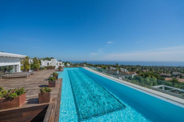 5 Bedroom, 5 Bathroom Penthouse For Sale in Reserva de Sierra Blanca, Marbella Golden Mile